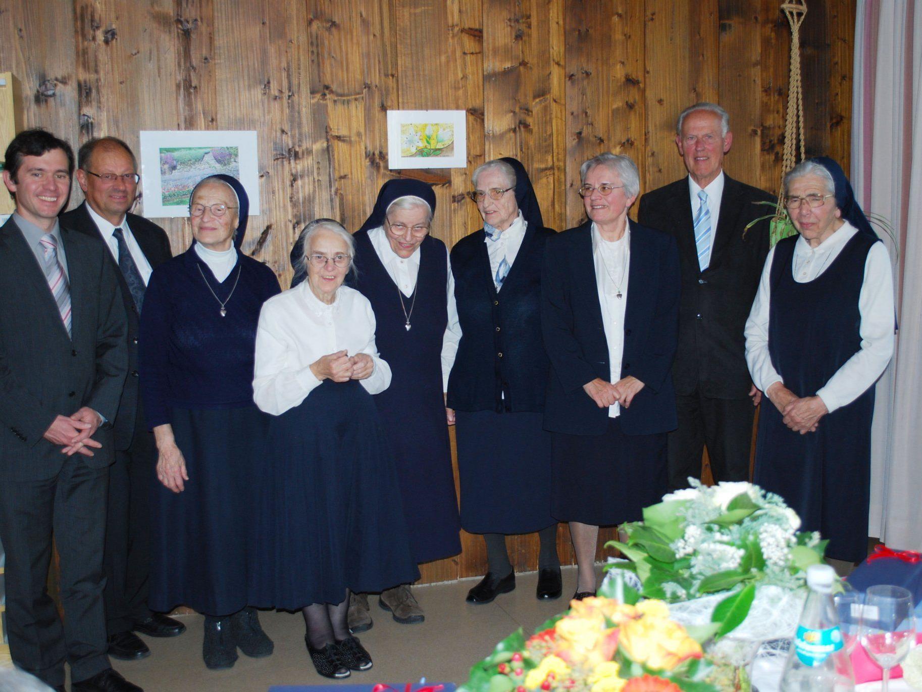 Anlässlich der Abschiedsfeier dankte Bürgermeister Ing. Martin Summer den Ordensschwestern für ihre Dienste in rund 100 Jahren.