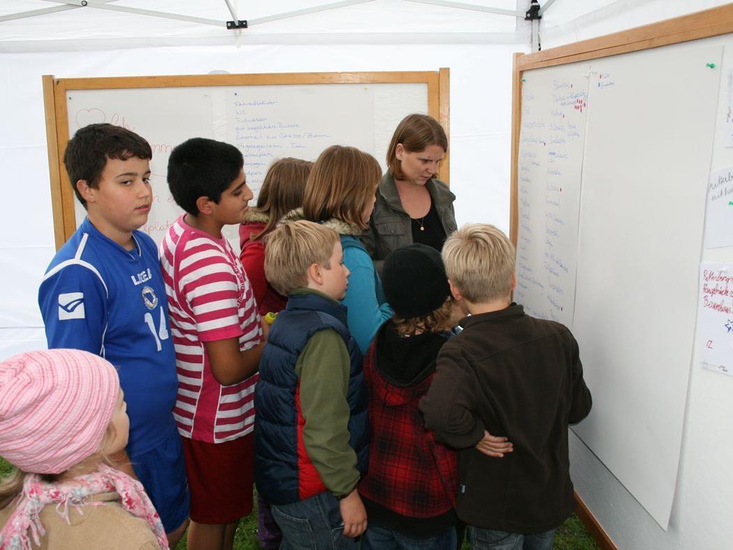 Beim Oktoberworkshop wurden viele Ideen festgehalten - jetzt geht's weiter!