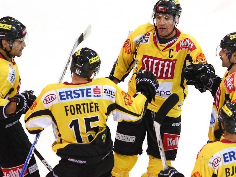 Die Vienna Capitals siegten mit 4:1.