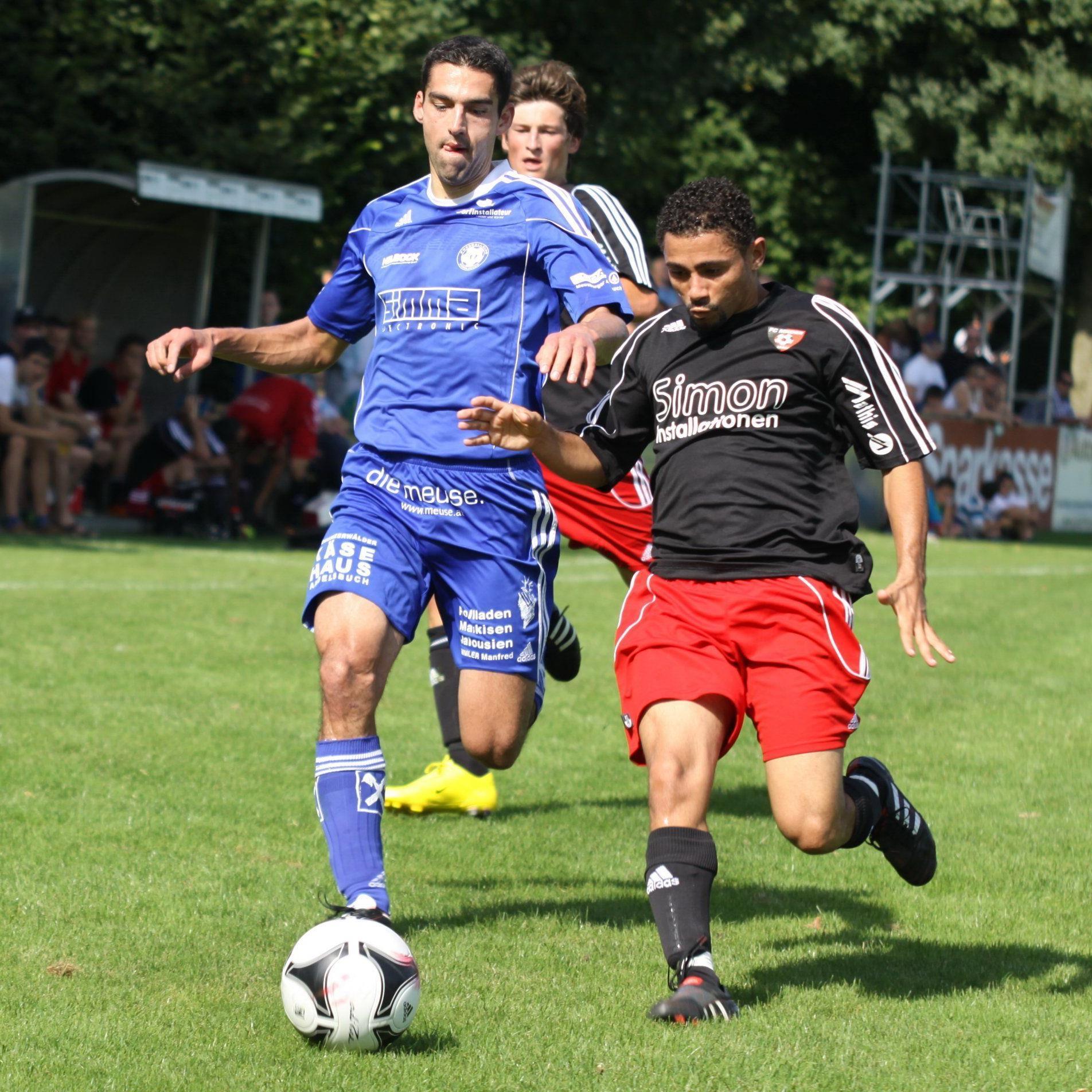 Mäder verlor im Cup in Lauterach mit 1:2-Toren.
