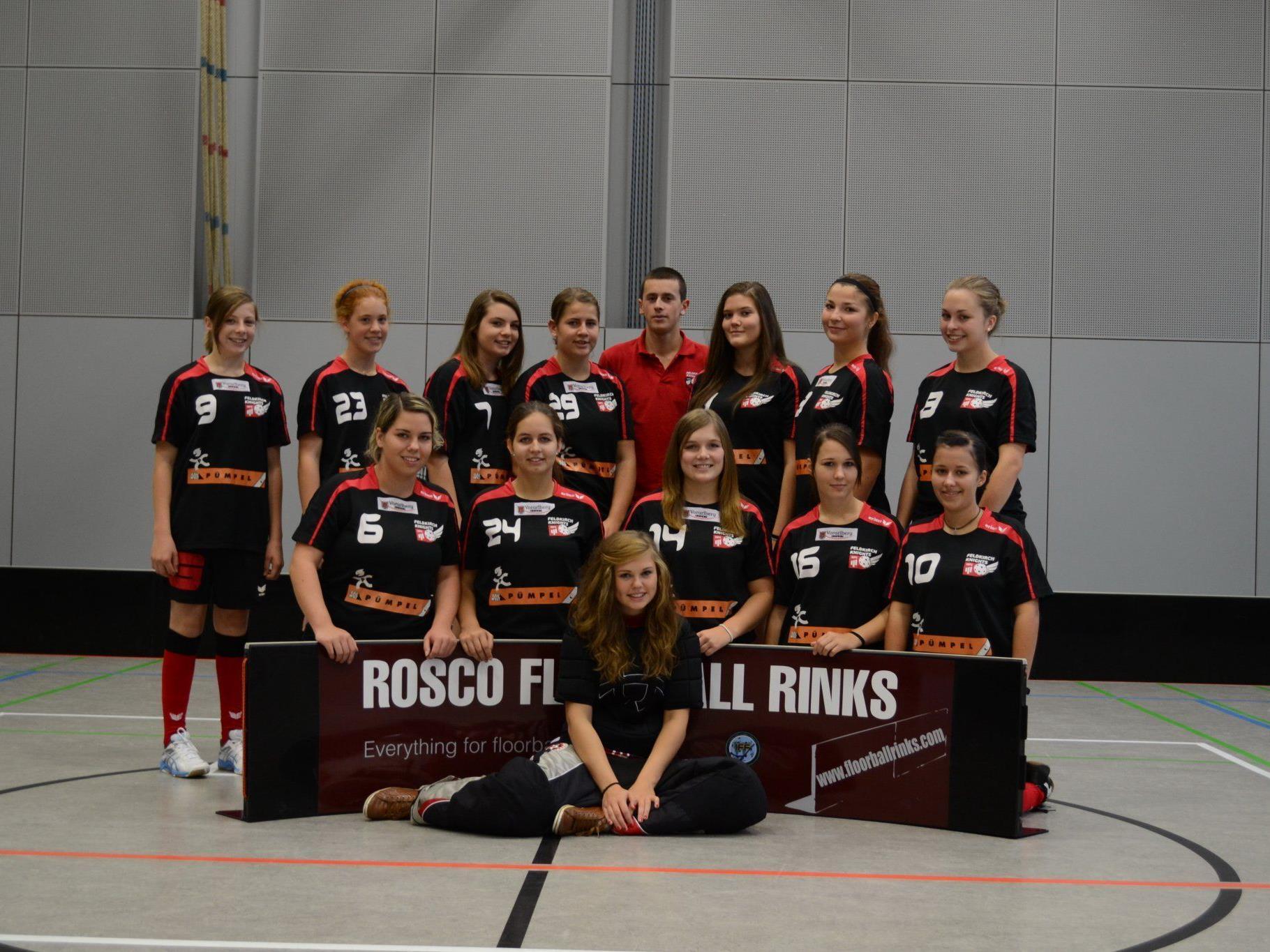 Feldkirch Knights Damen spielen in der Bundesliga.