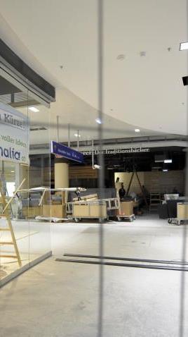 Heute wird noch gebaut, morgen wird eröffnet: Das neue Westbahnhof-Center!