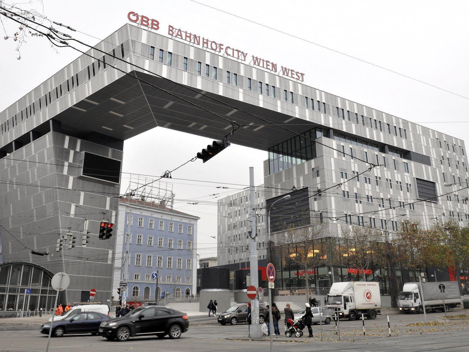 Der umgebaute Westbahnhof in Wien wurde gestern eröffnet.