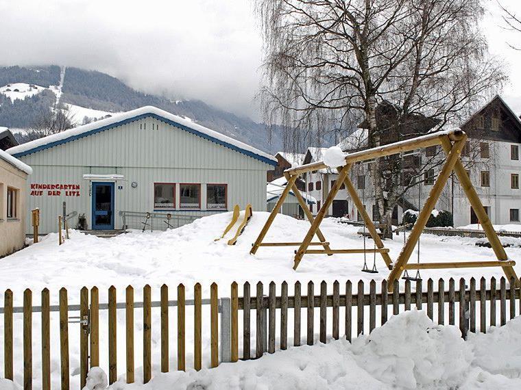 Kindergarten Auf der Litz in Schruns, am 29. Dezember 2011
