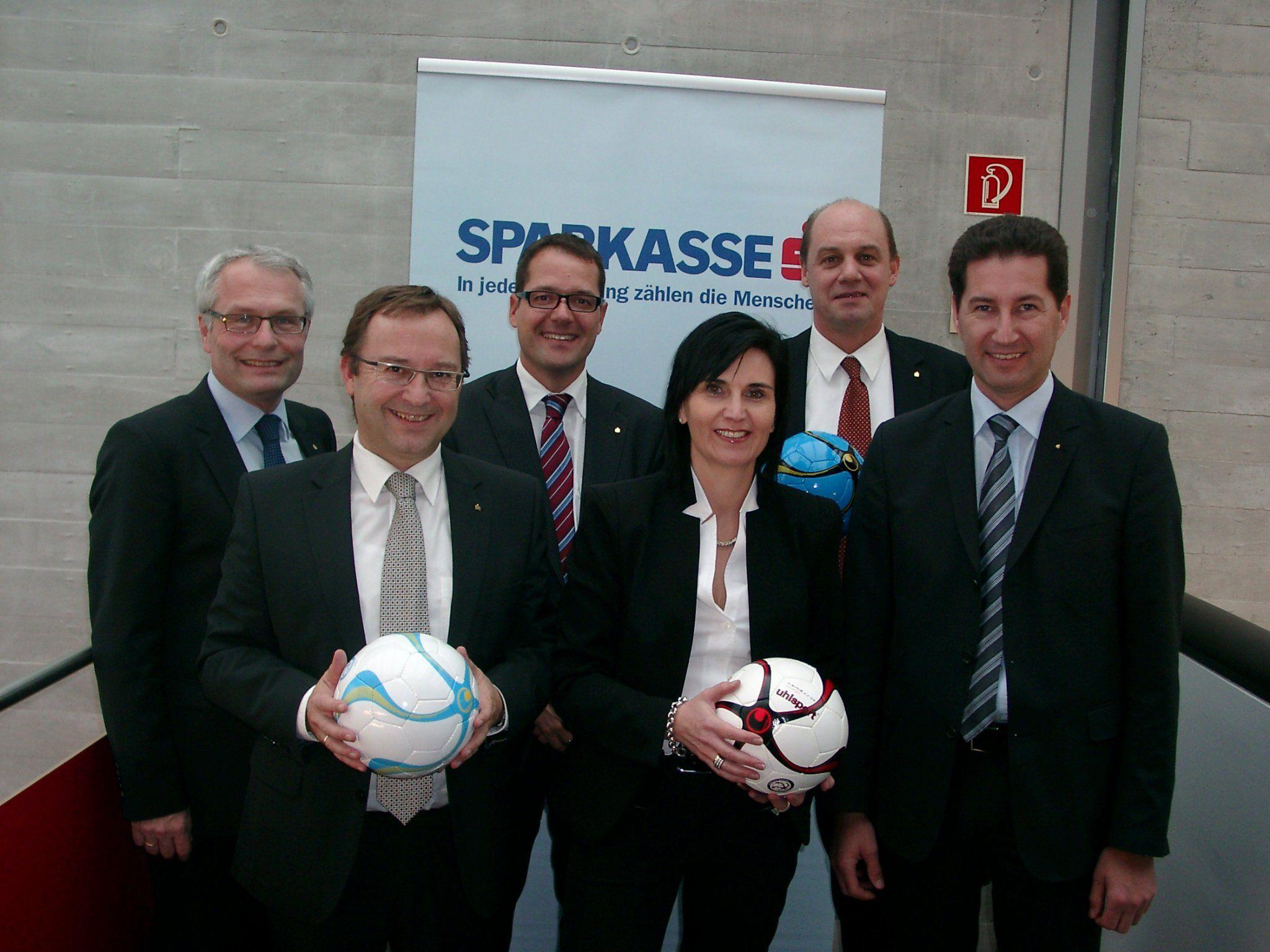 Sparkasse seit 13 Jahren Hauptsponsor beim Wolfurter Hallenmasters.