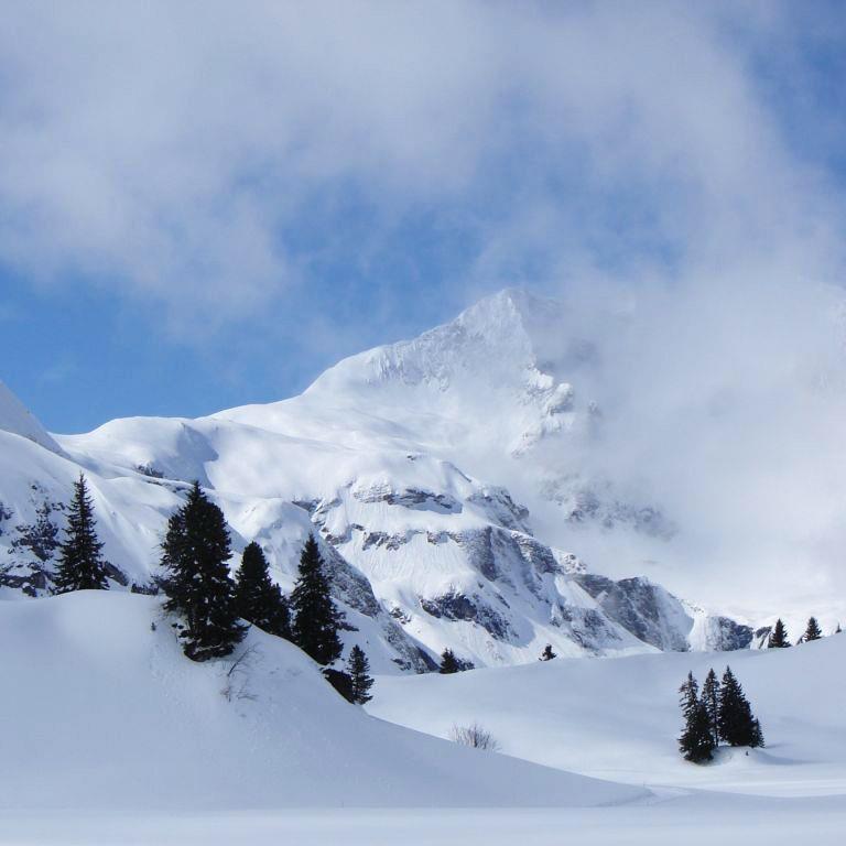Warth in Vorarlberg gilt als schneesicherstes Gebiet der Alpen.