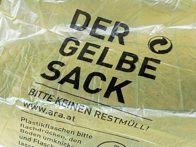 Die Kunststoffabfälle werden am 20. Dezember wieder eingesammelt.
