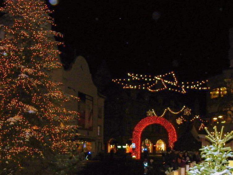 Weihnachtsstimmung am Leuthbühel