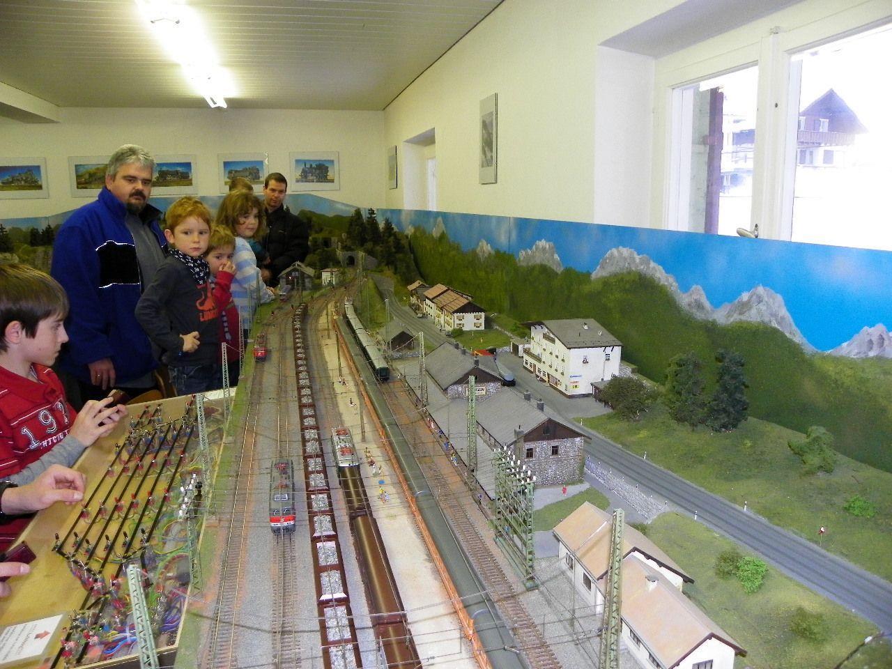 Eisenbahnfreunde unter sich
