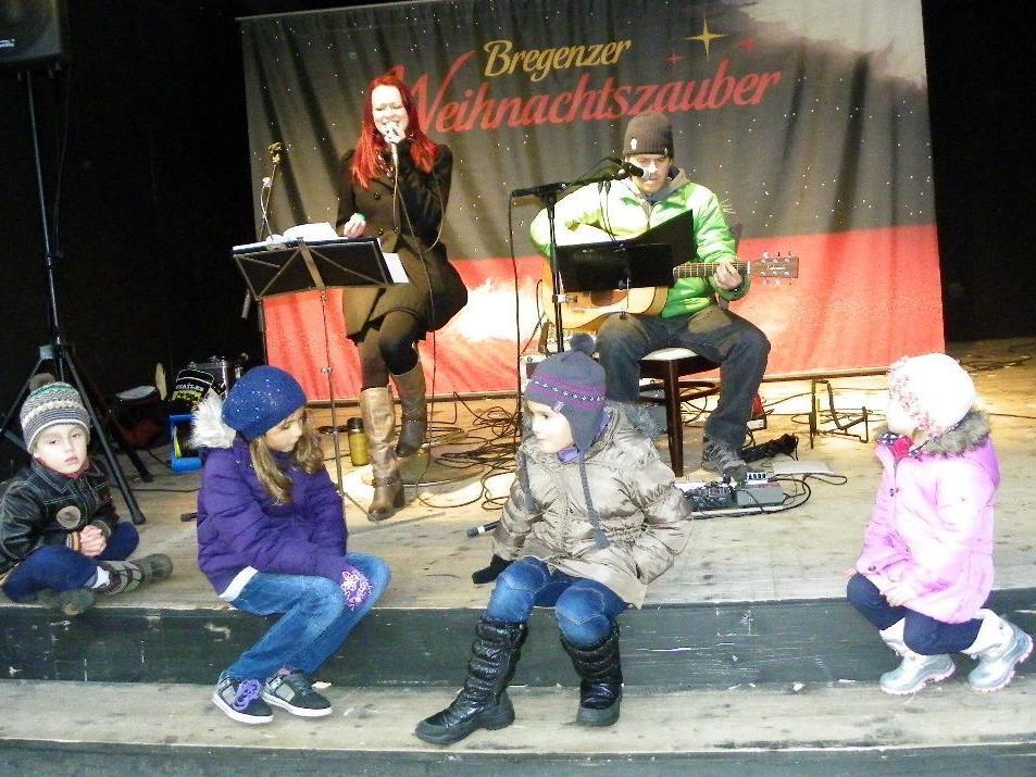Auch für das junge Publikum gab es die Weihnachtshits