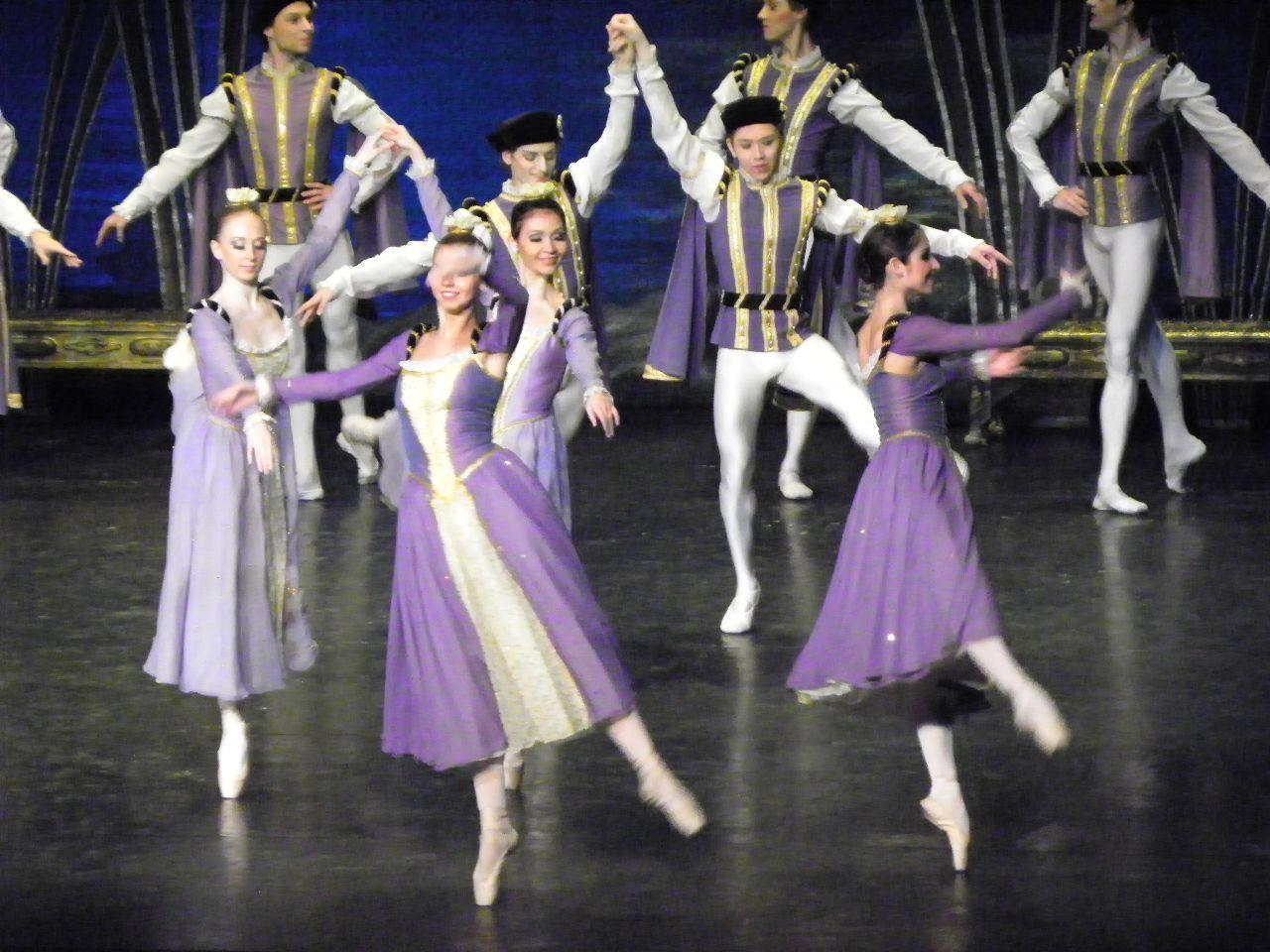 Eindrucksvolle Choreografie