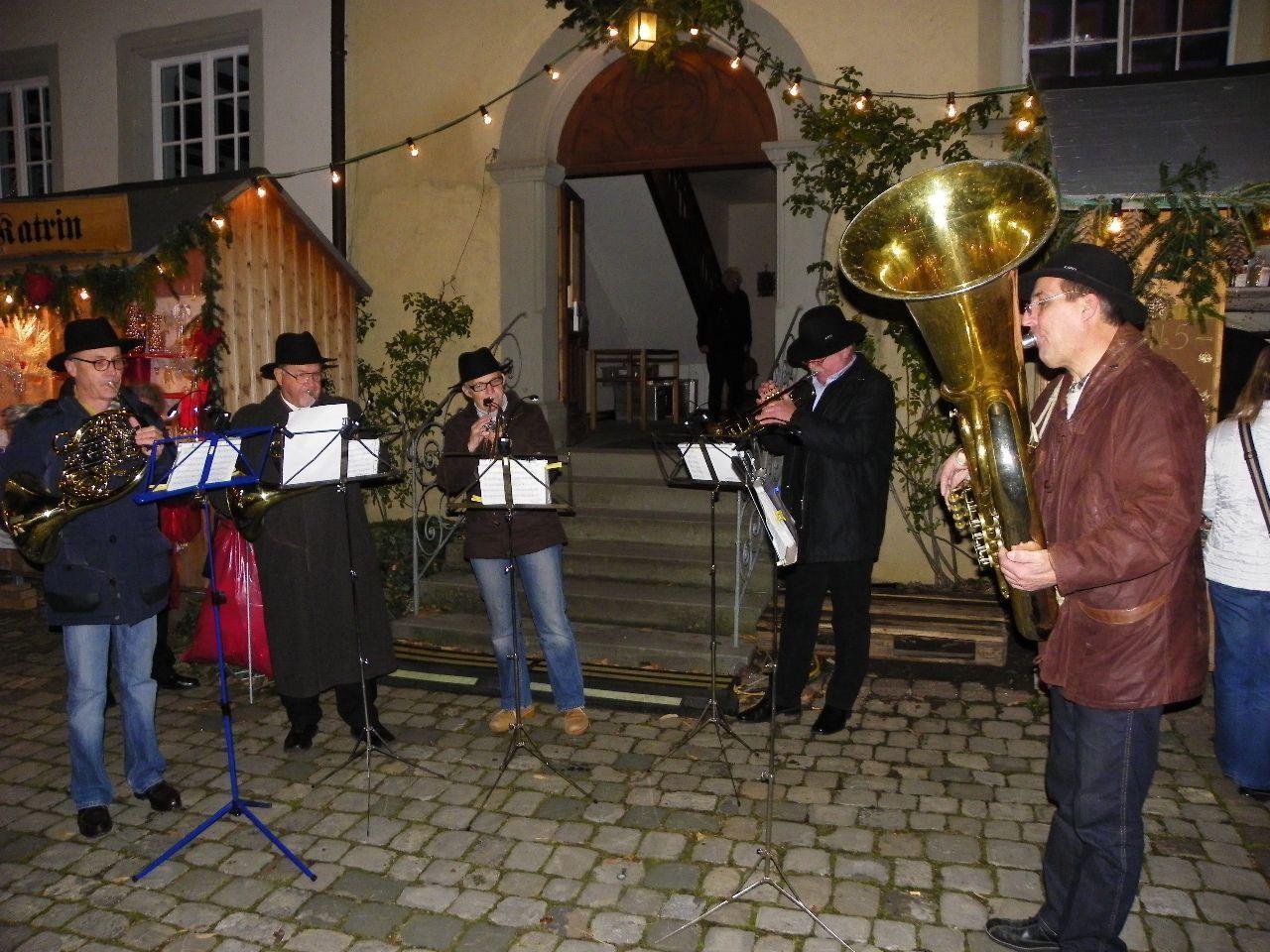 Das Blasius Ensemble spielte weihnachtliche Barockmusik