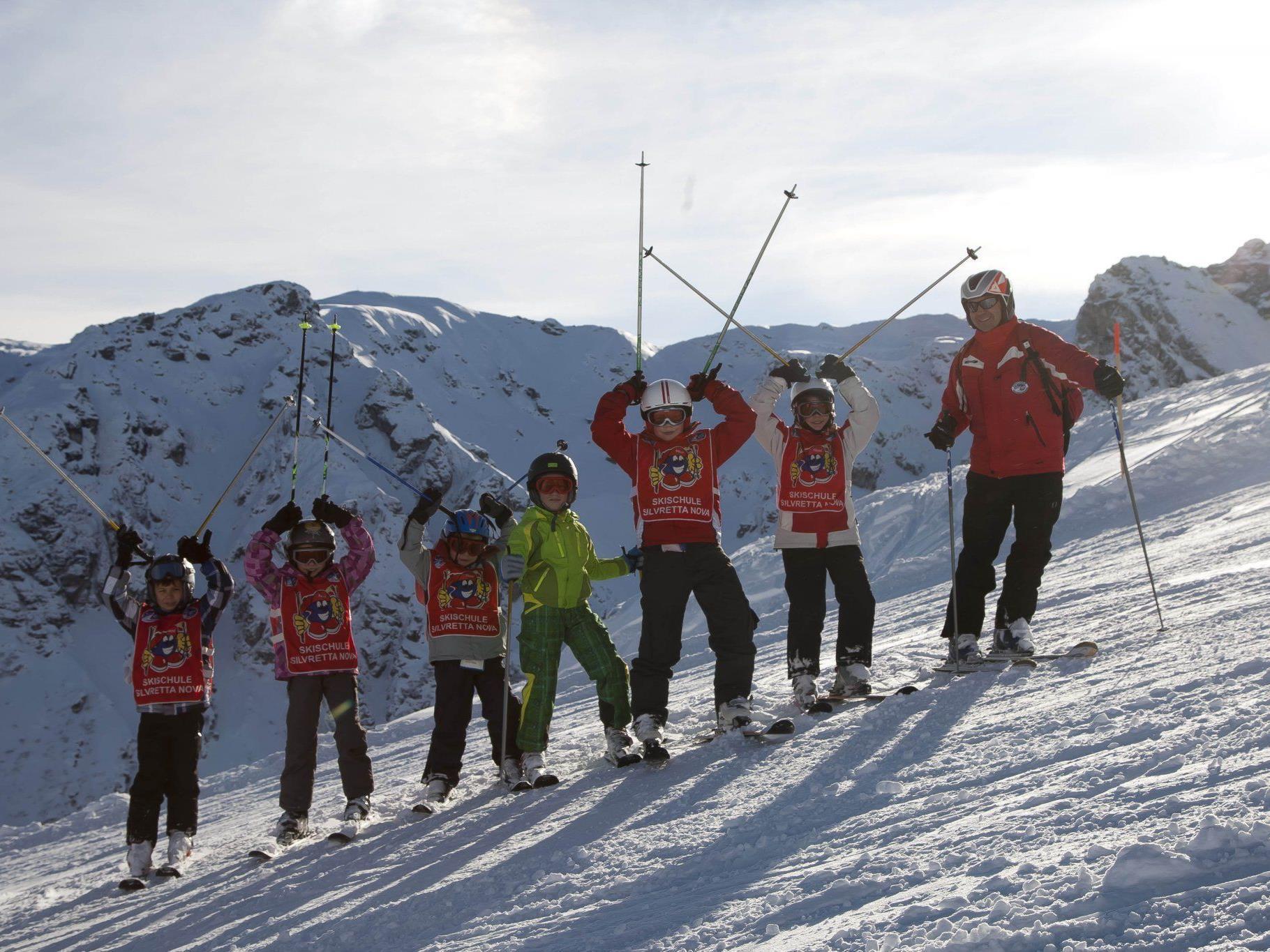 Für Skifahrer und Wintersportler ist der hohe Niederschlag ein Segen.