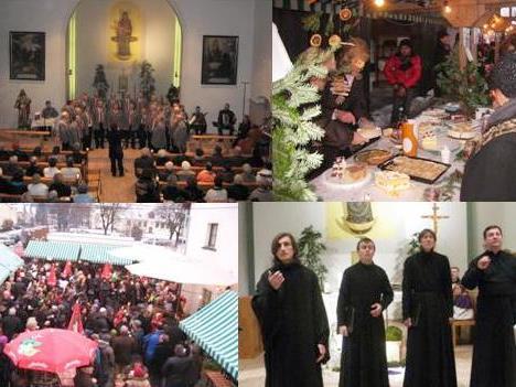Advent im Franziskanerkloster Bludenz
