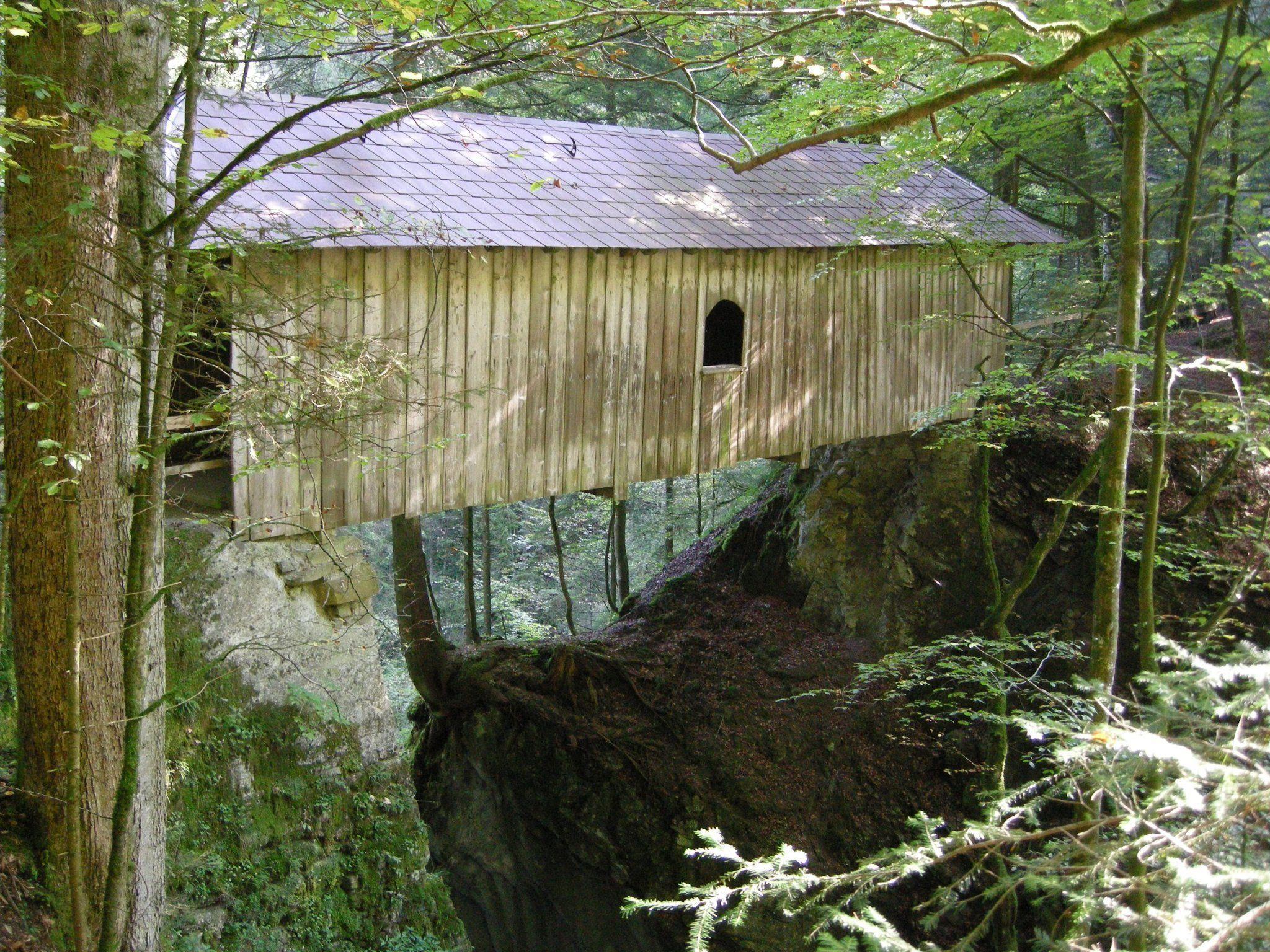 Amannbrücke ist ein historisches Baujuwel.