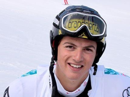 Frderic Berthold ist einer von sechs Vorarlbergern im ÖSV-Europacup-Kader