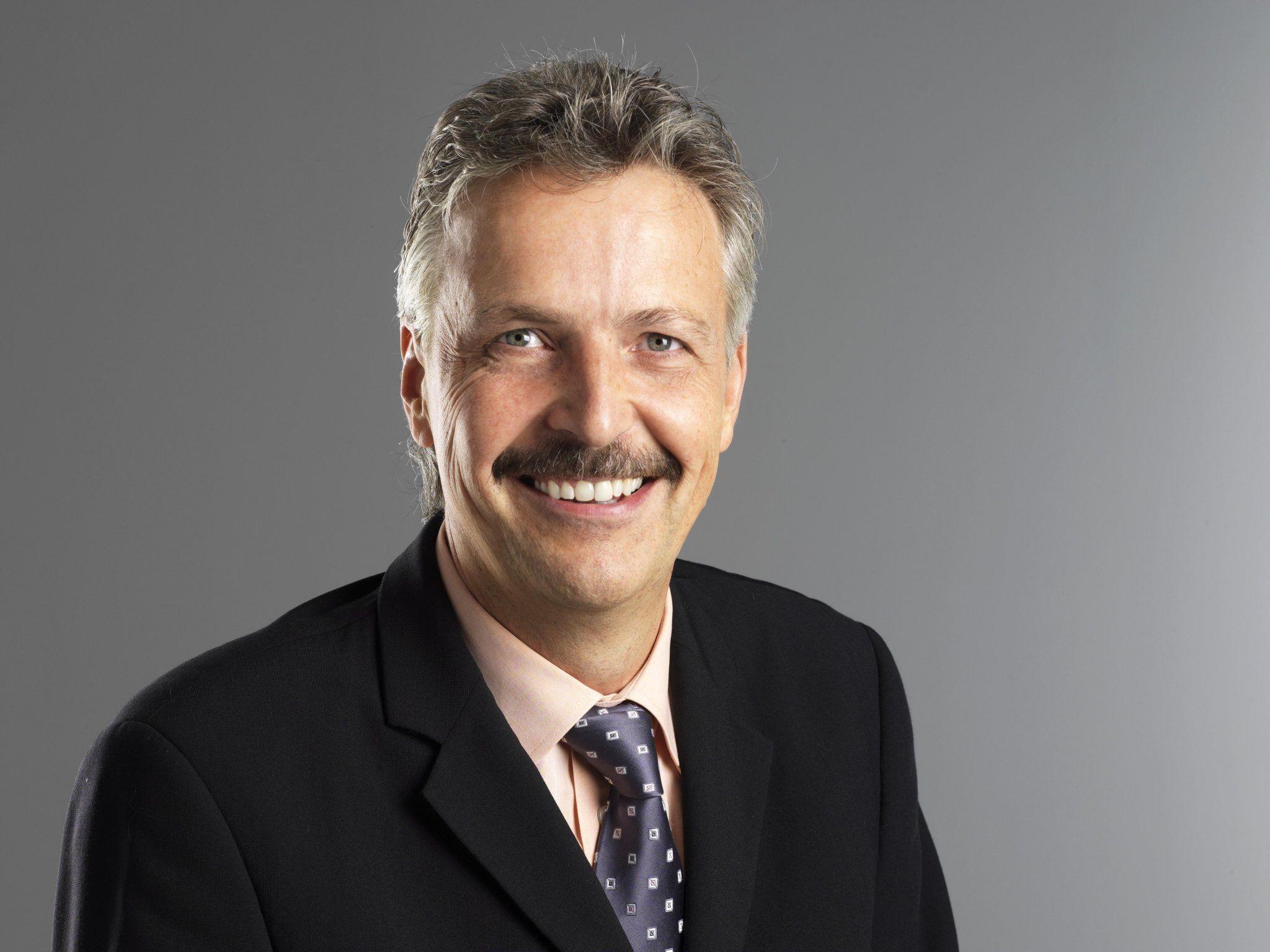 Otto-G. Mäser, der Nachfolger von Klaus Ulmer.