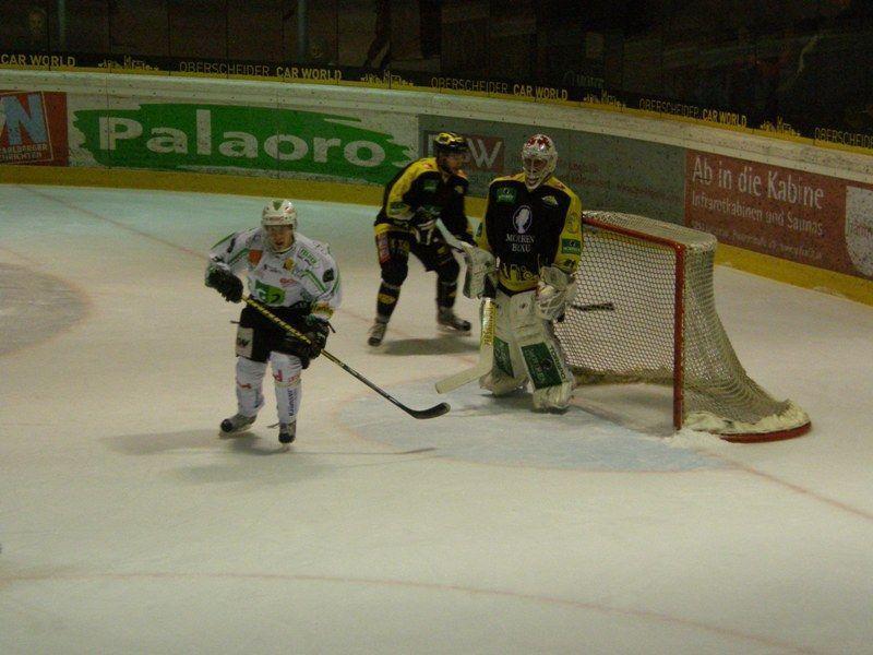 Lustenau-Goalie Bernhard Bock war in Alberschwende nicht zu bezwingen.
