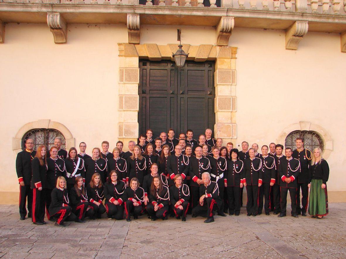Das Silvesterkonzert der Bürgermusik findet heute um 15 Uhr im Rathaus statt.