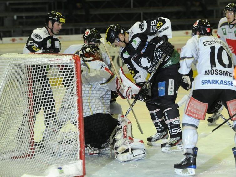 Bei Innsbruck-Keeper Seidl war für die Bulldogs meistens Endstation