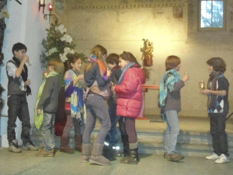 Kindertheatergruppe Motif in der Martinskirche