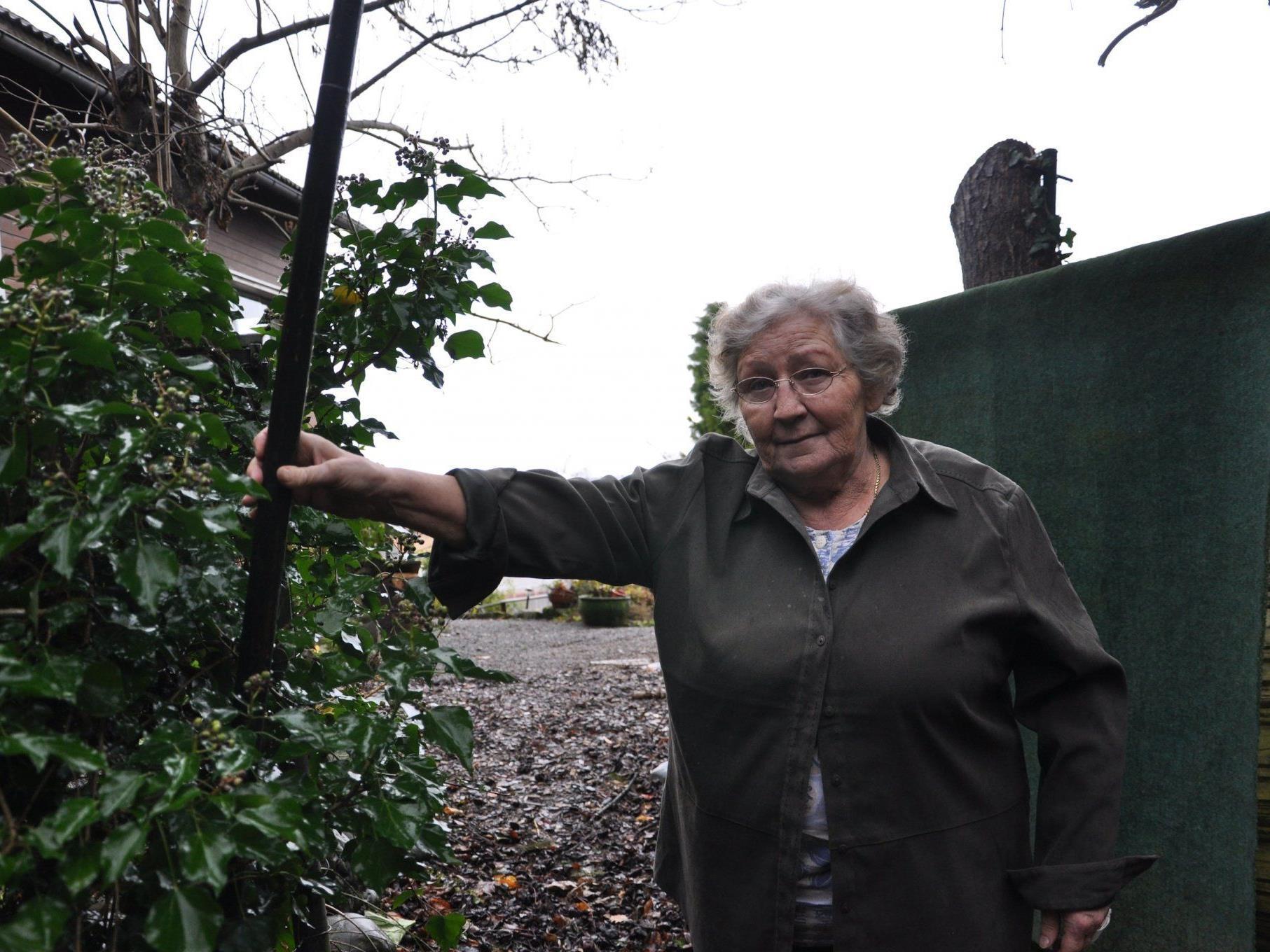 Reinhilde Meyer ist dankbar über die Hilfe von der Seniorenbörse.
