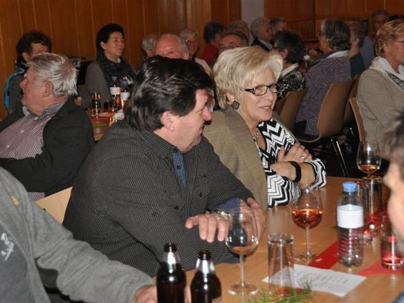 Geselliges Beisammensein bei der Weihnachtsfeier des PVÖ Wolfurt