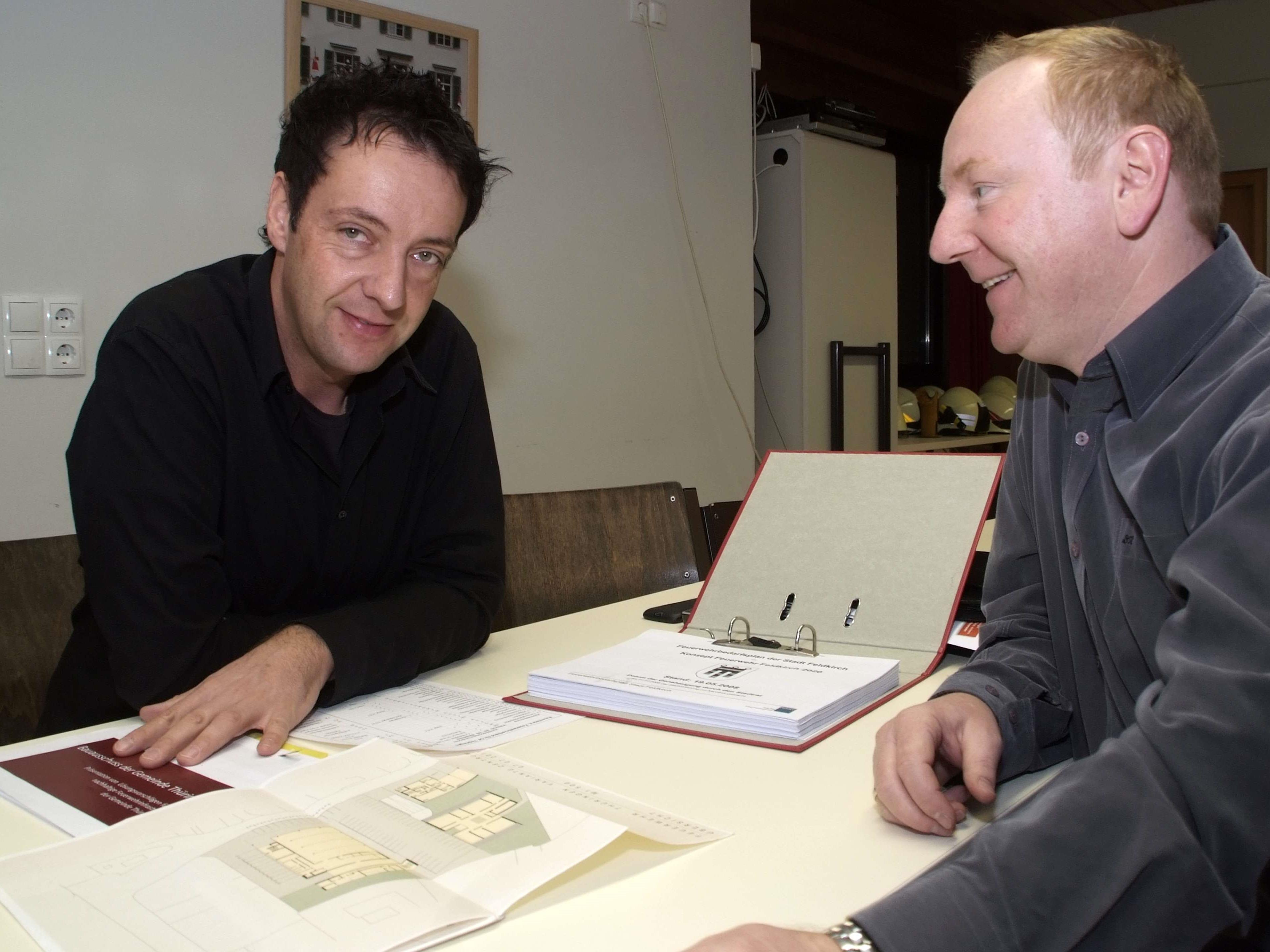 Haben bereits viel Zeit in die Planung investiert:  Karlheinz Beiter und Horst Dobler.