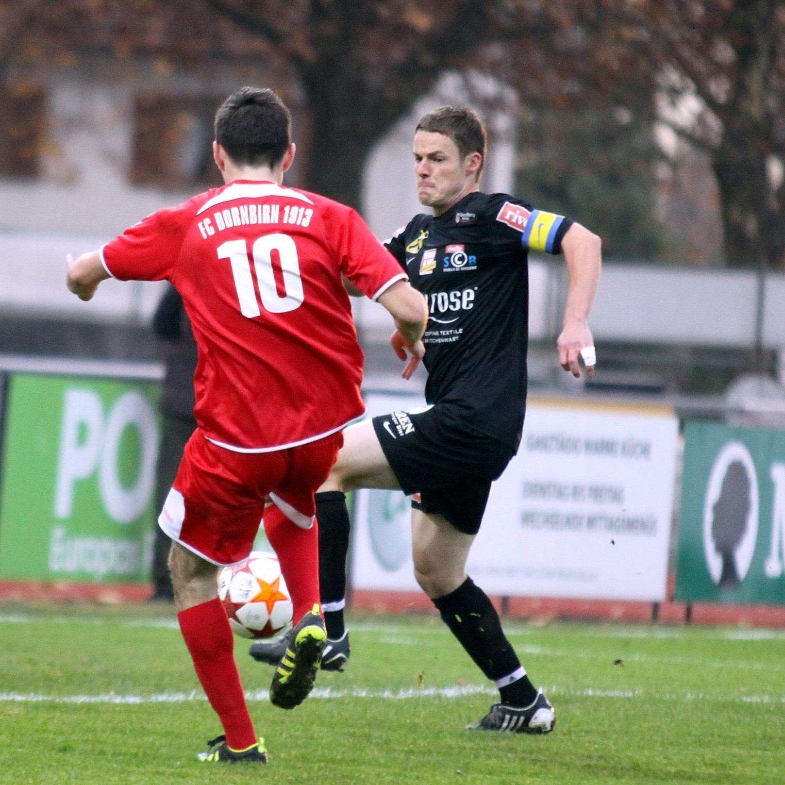Werner Grabherr spielt nicht mehr für SC Bregenz.