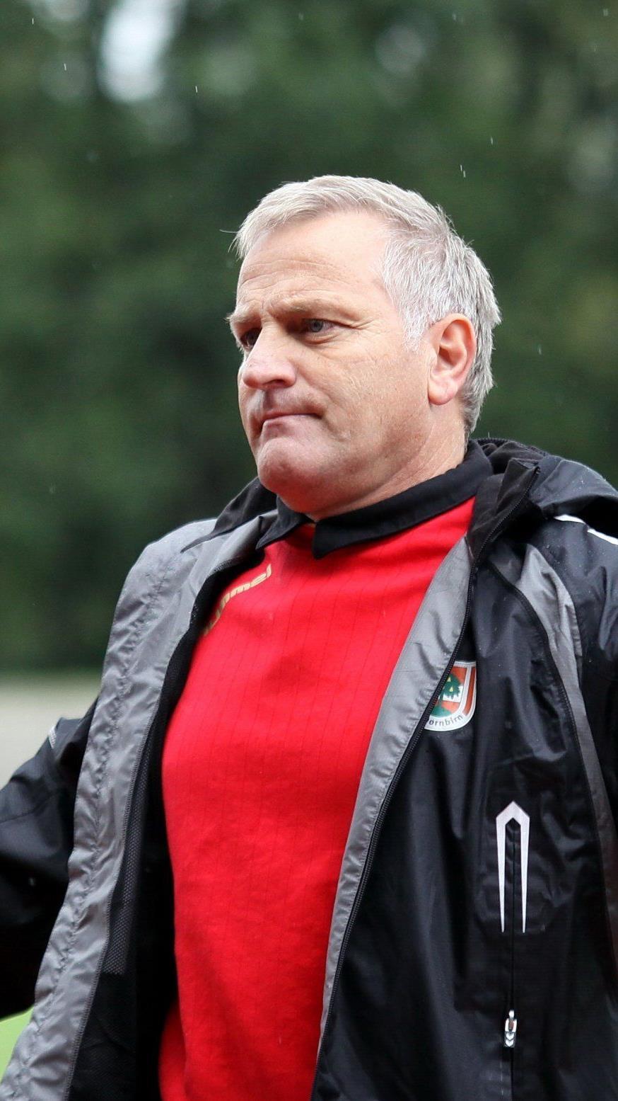 Peter Sallmayer will mit FC Dornbirn den Masterssieg holen.