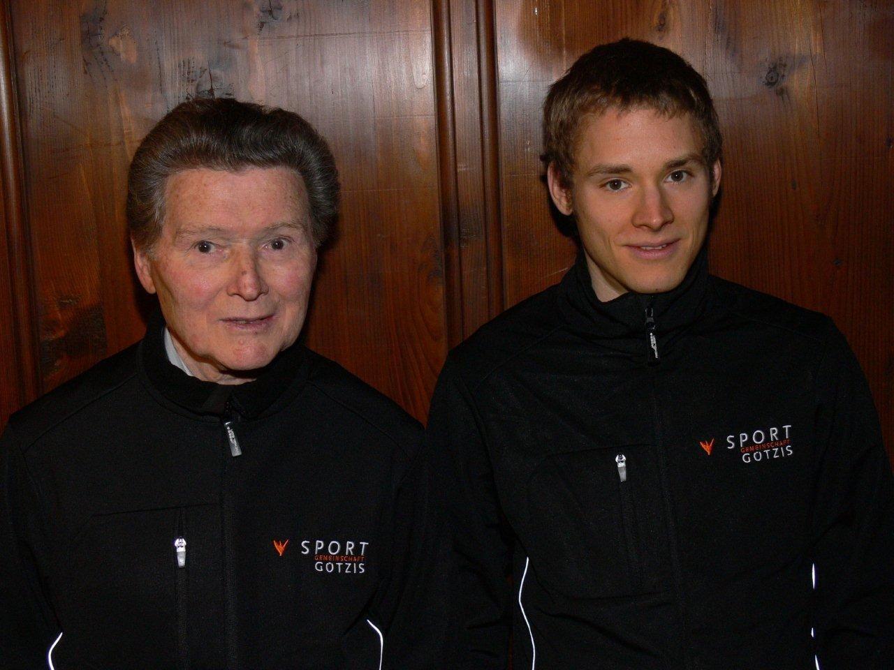 Wurden geehrt: Vizeweltmeister Albert Stoppel & Vizeeuropameister Thomas Summer