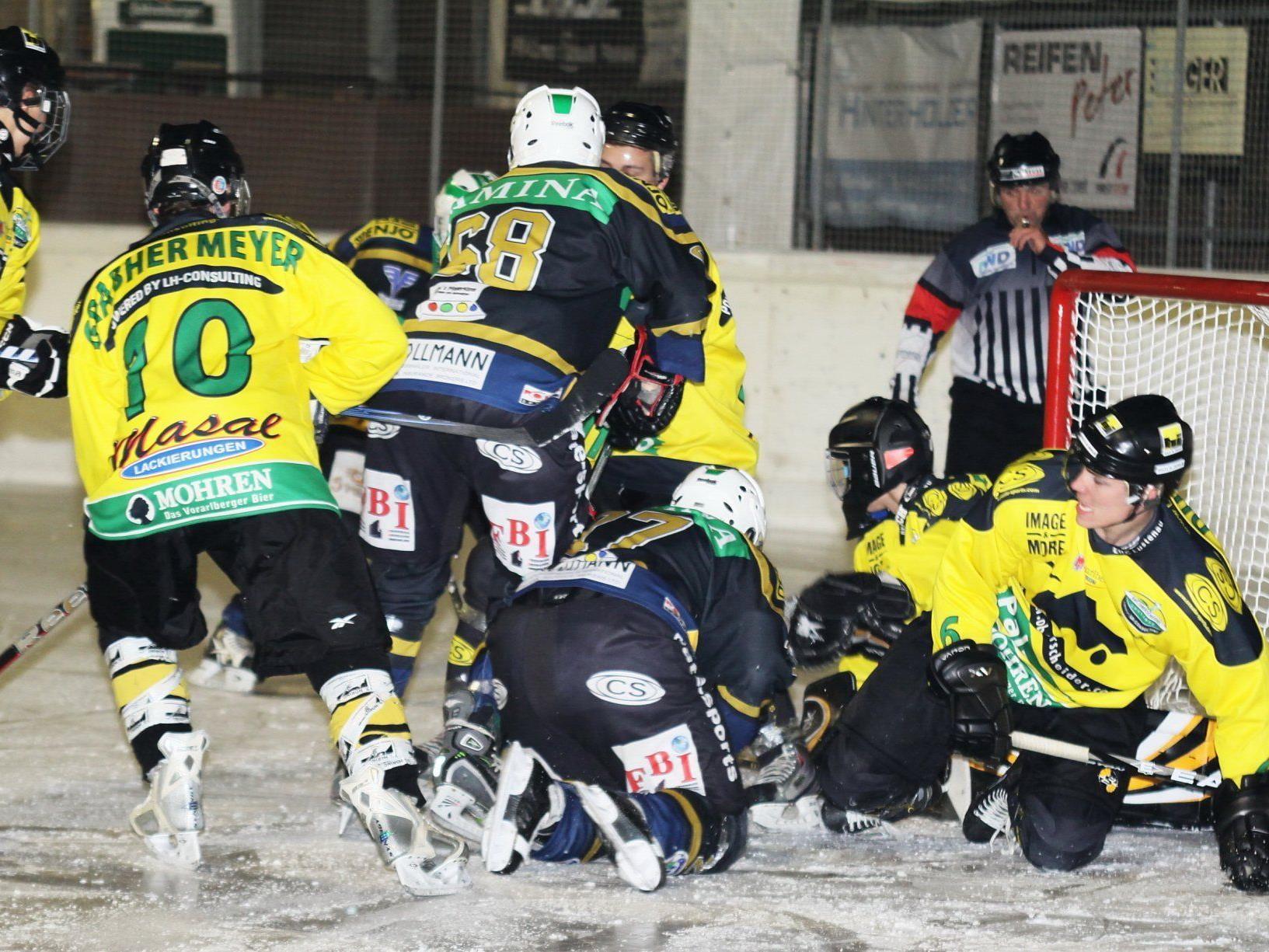 Führungswechsel in der Eishockey-Vorarlbergliga.