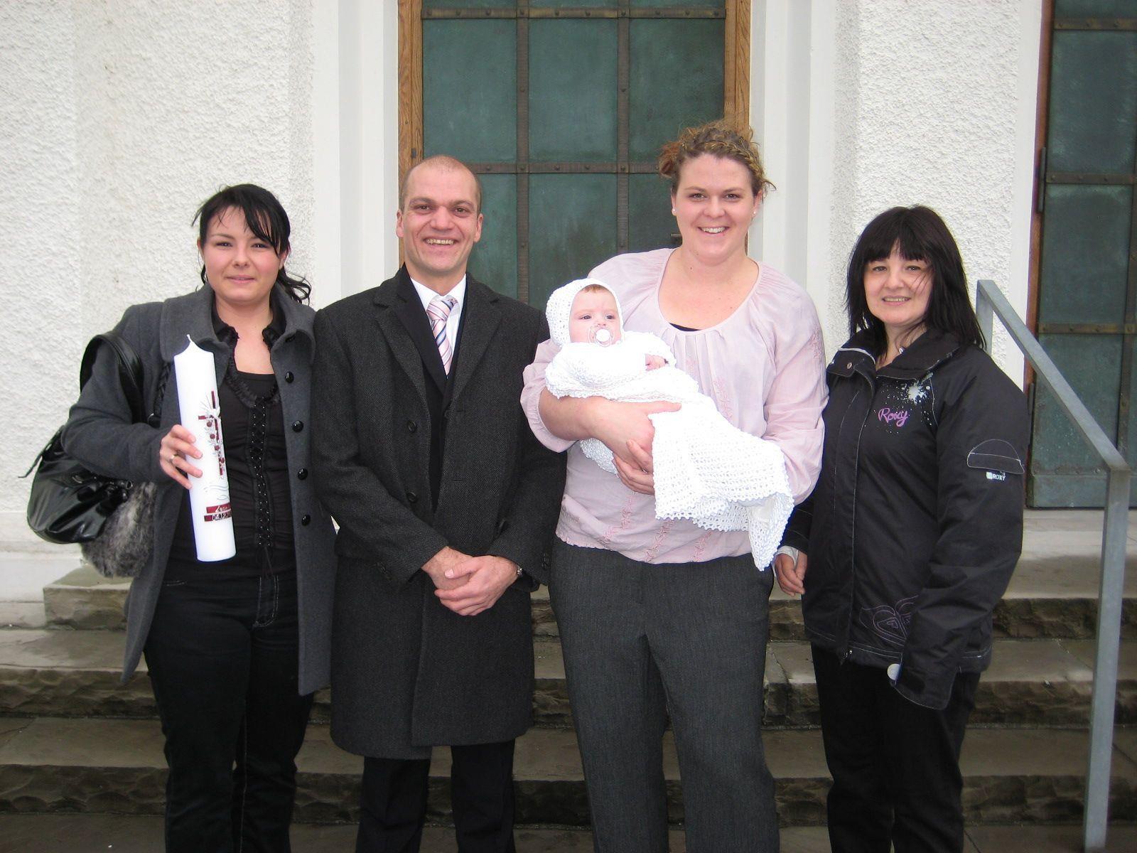 Leonie Flatz wurde getauft.