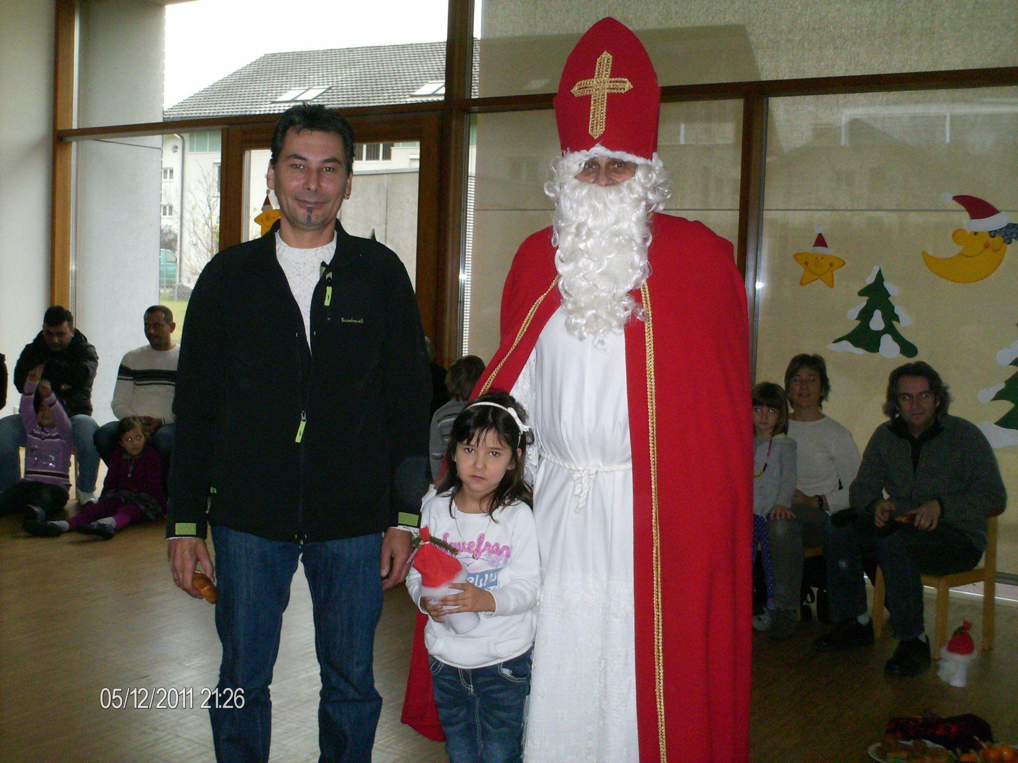 Der Nikolaus war zu Besuch in Bludesch
