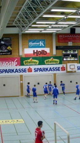 Panoramabild der Hofsteigsporthalle ein Genuss.