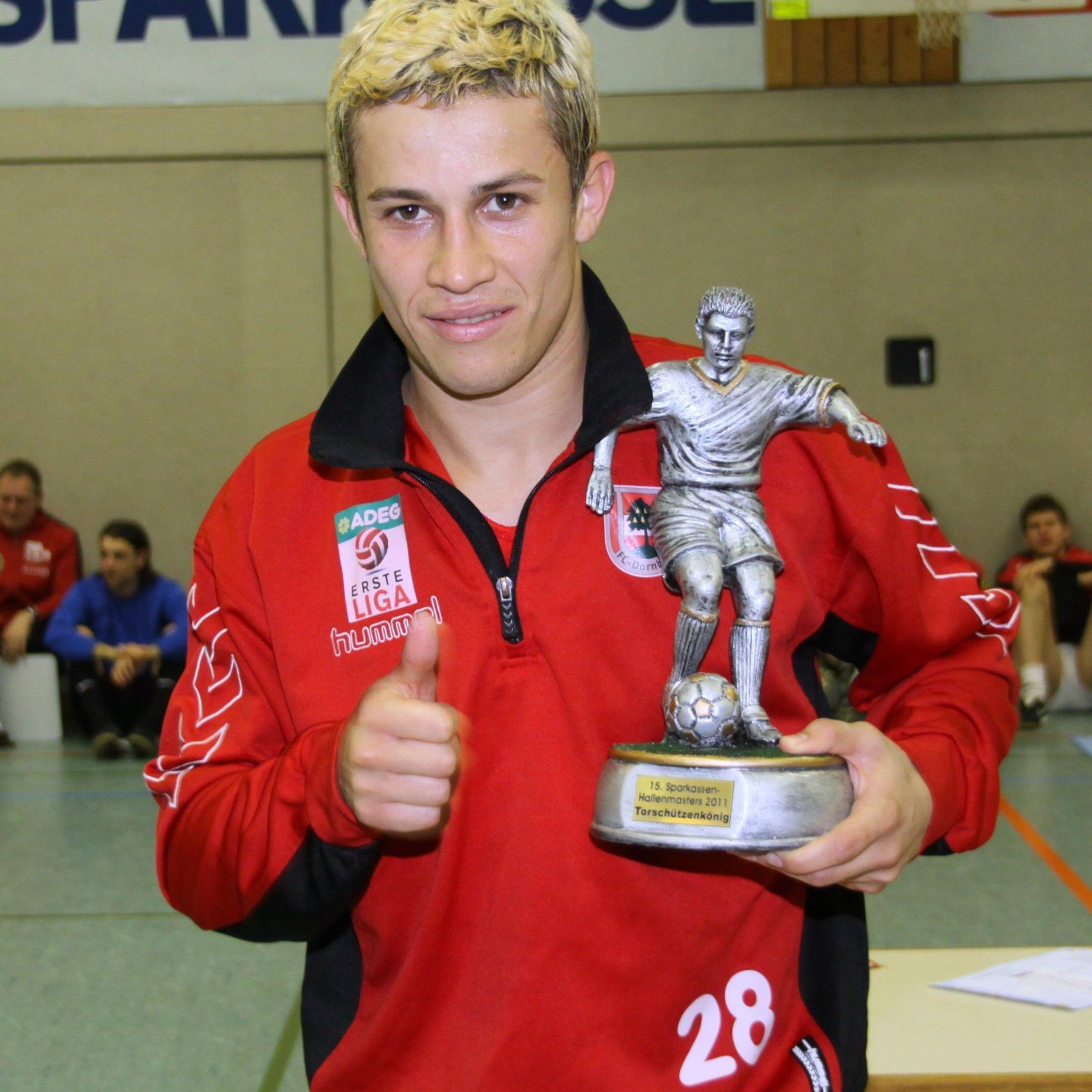 Thiago de Lima will mit Dornbirn in Sonthofen gewinnen.