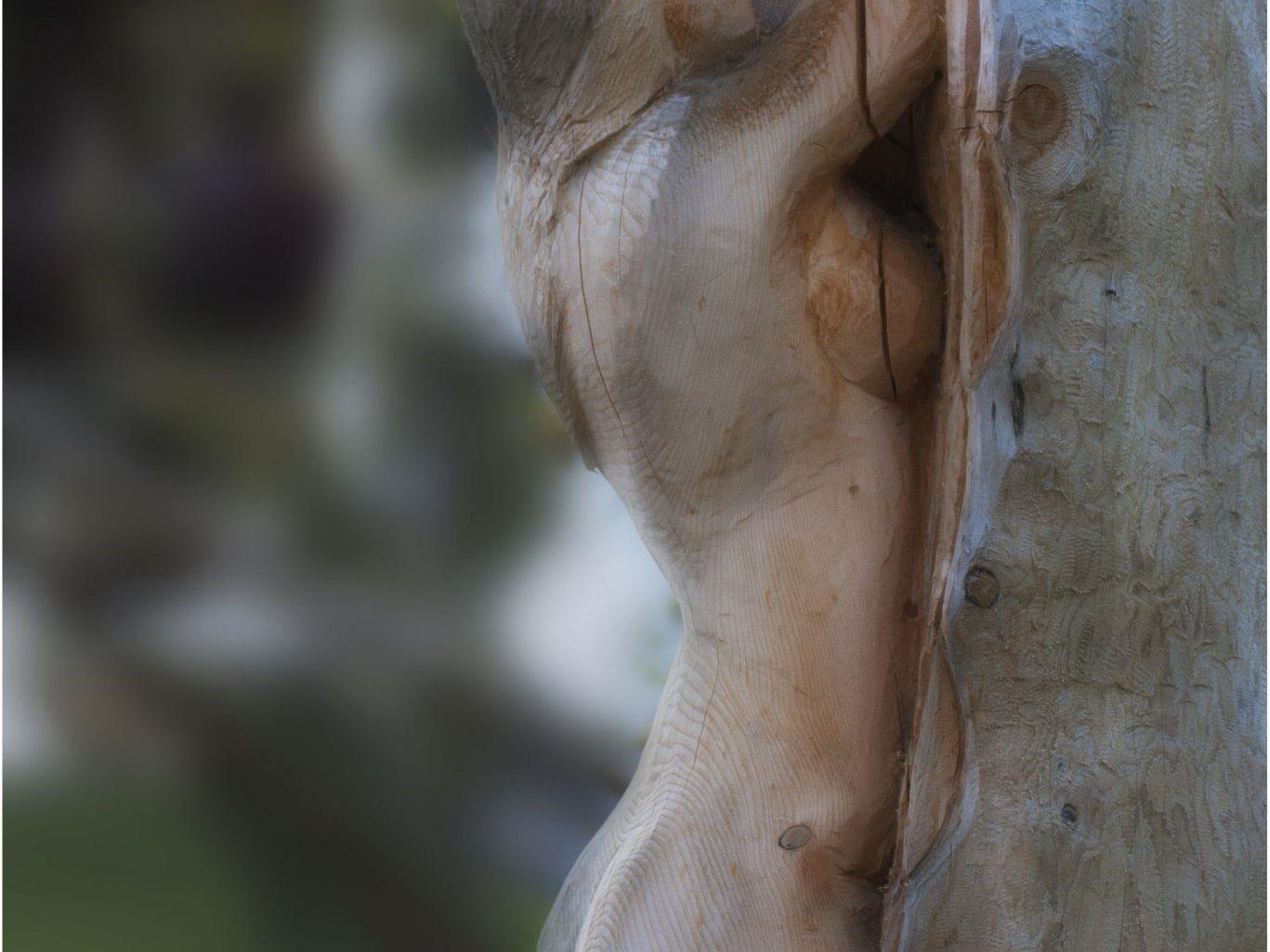 Holzakt von Christian Beck.