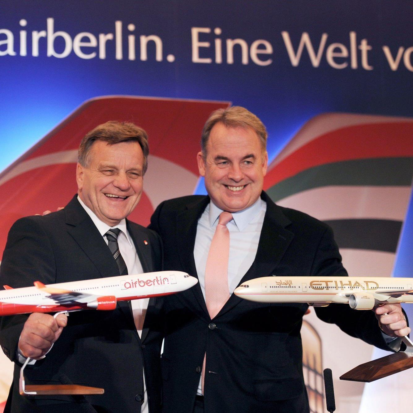 Mit 29,2 Prozent der Anteile soll Etihad größter Einzelaktionär bei Air Berlin werden