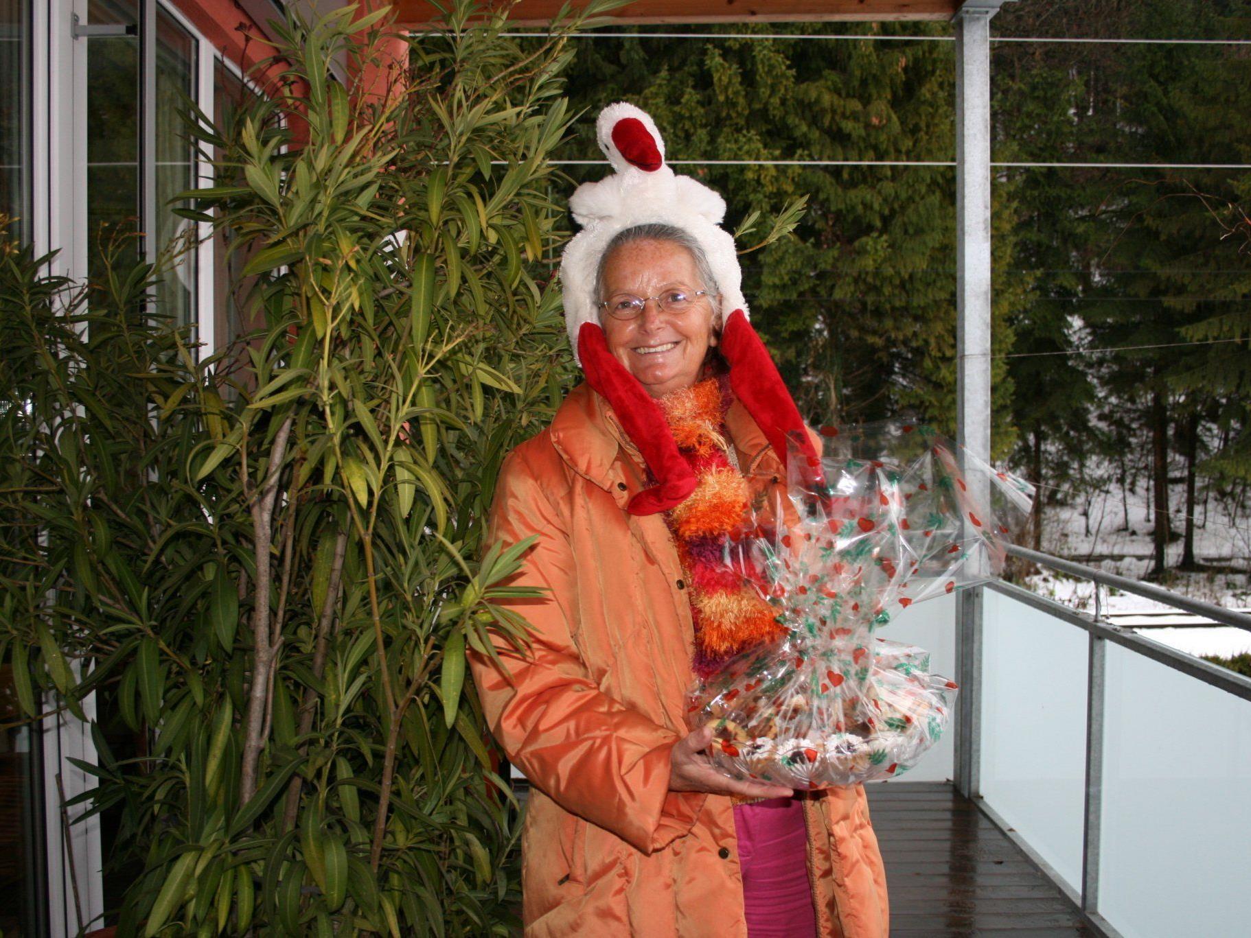 Helga Rützler vom Talente Tauschkreis Feldkirch.