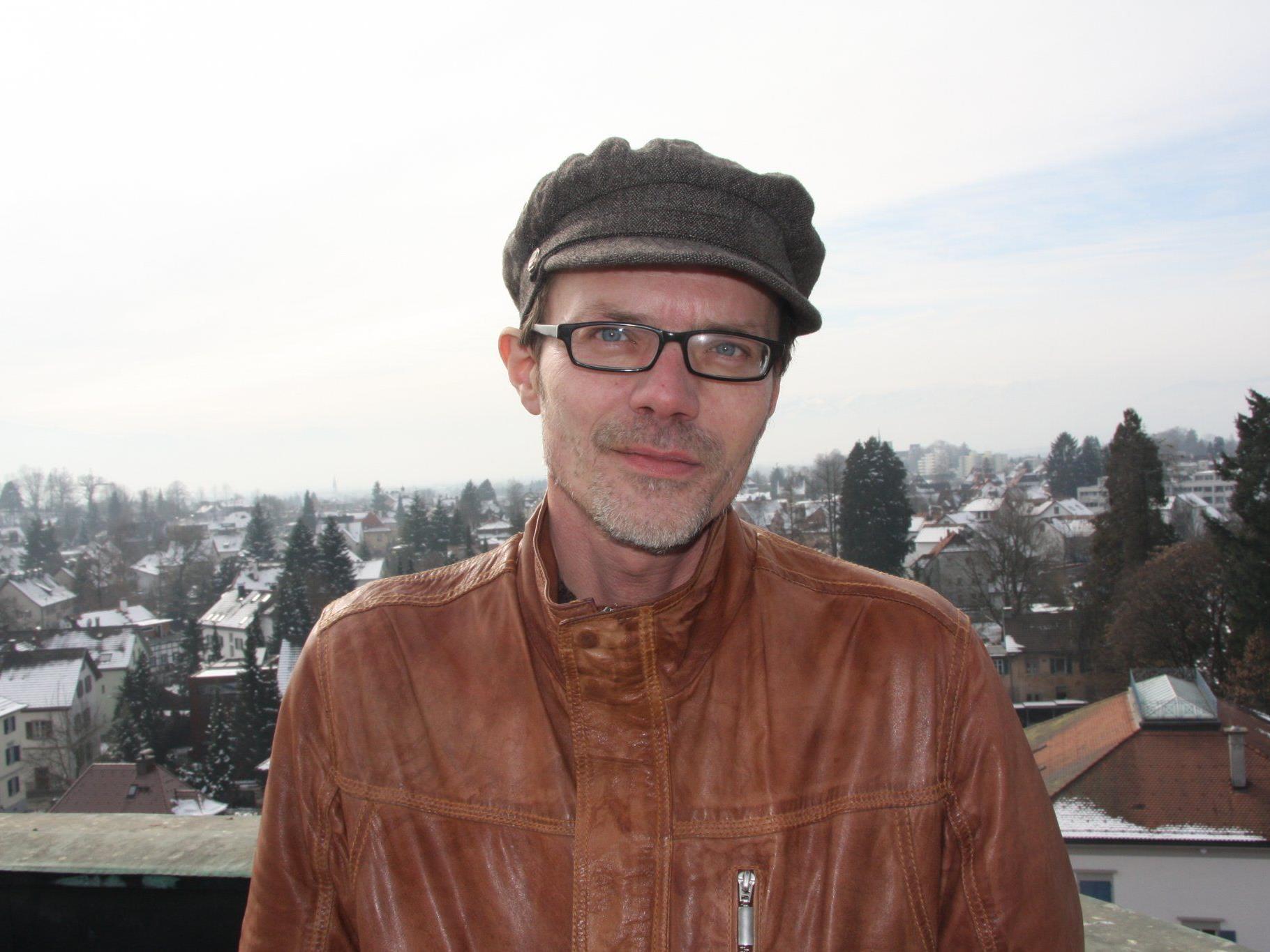 Günter Scheibenreif von der ZAMG in Bregenz.