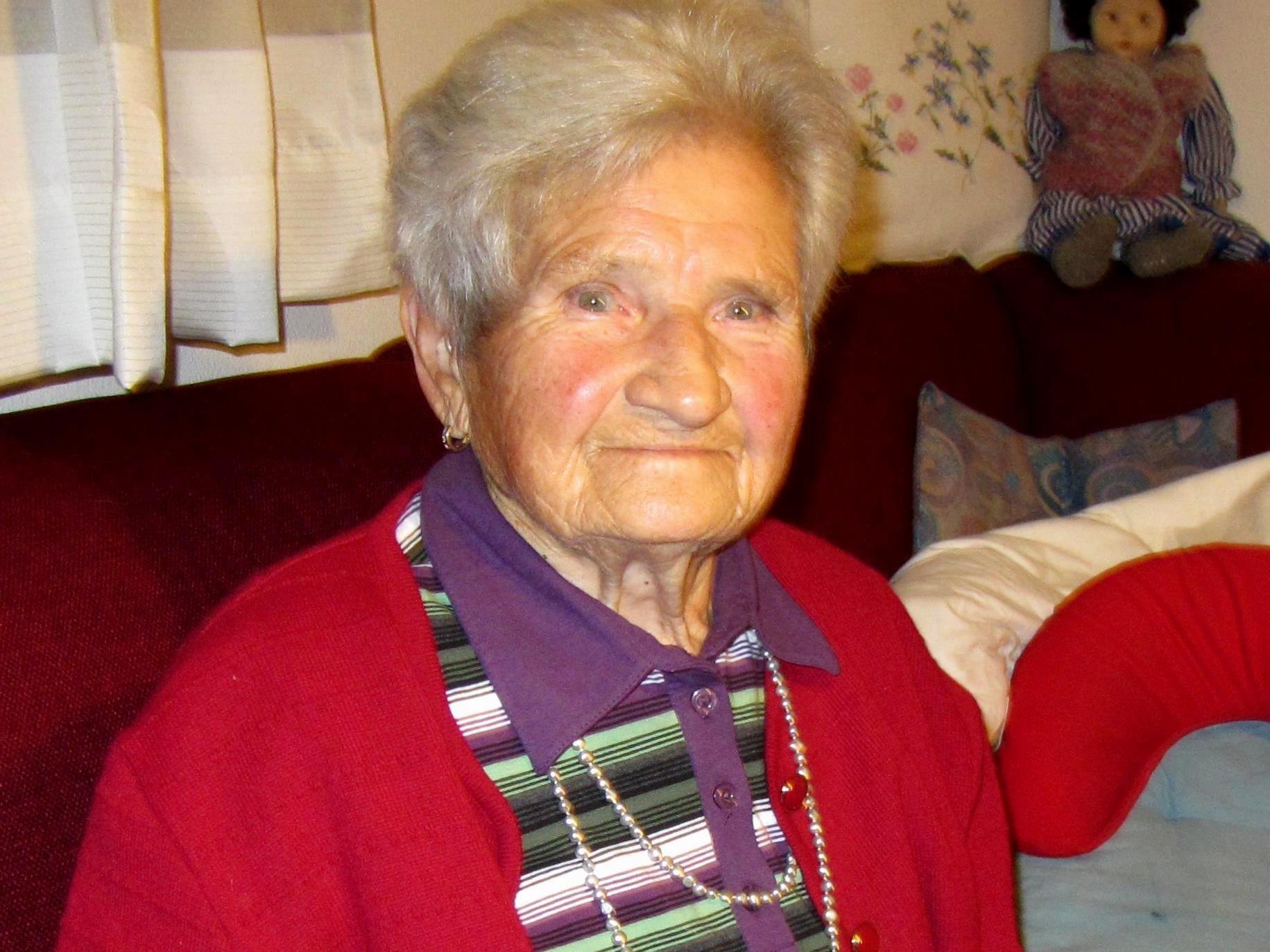 Irma Haller wurde von Schicksalsschlägen nicht verschont.