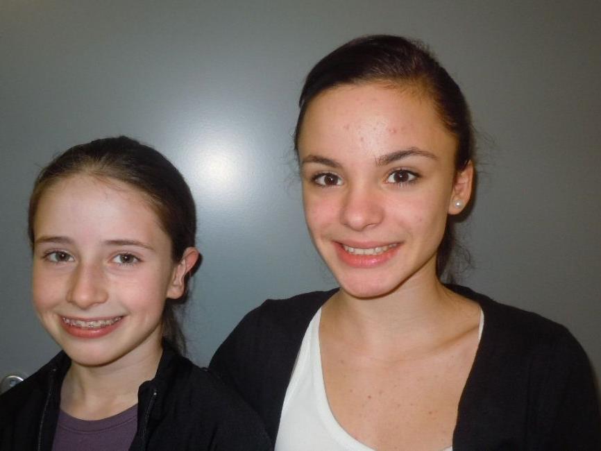 Joelle Nasheim und Amina Gohm