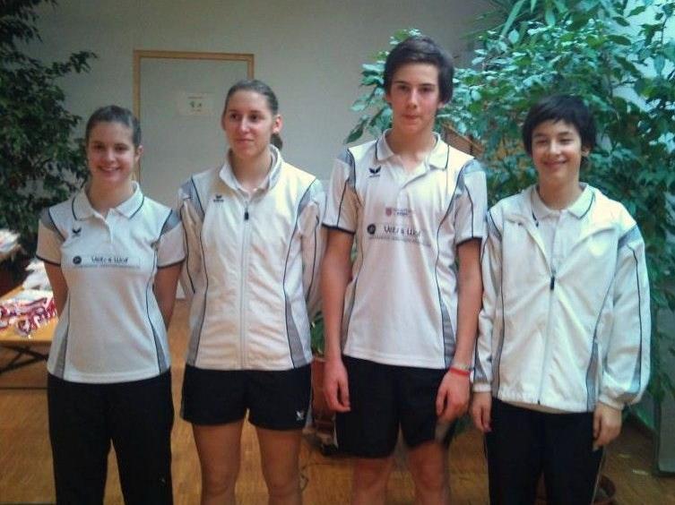 Die Siegermannschaft des BCM Feldkirch