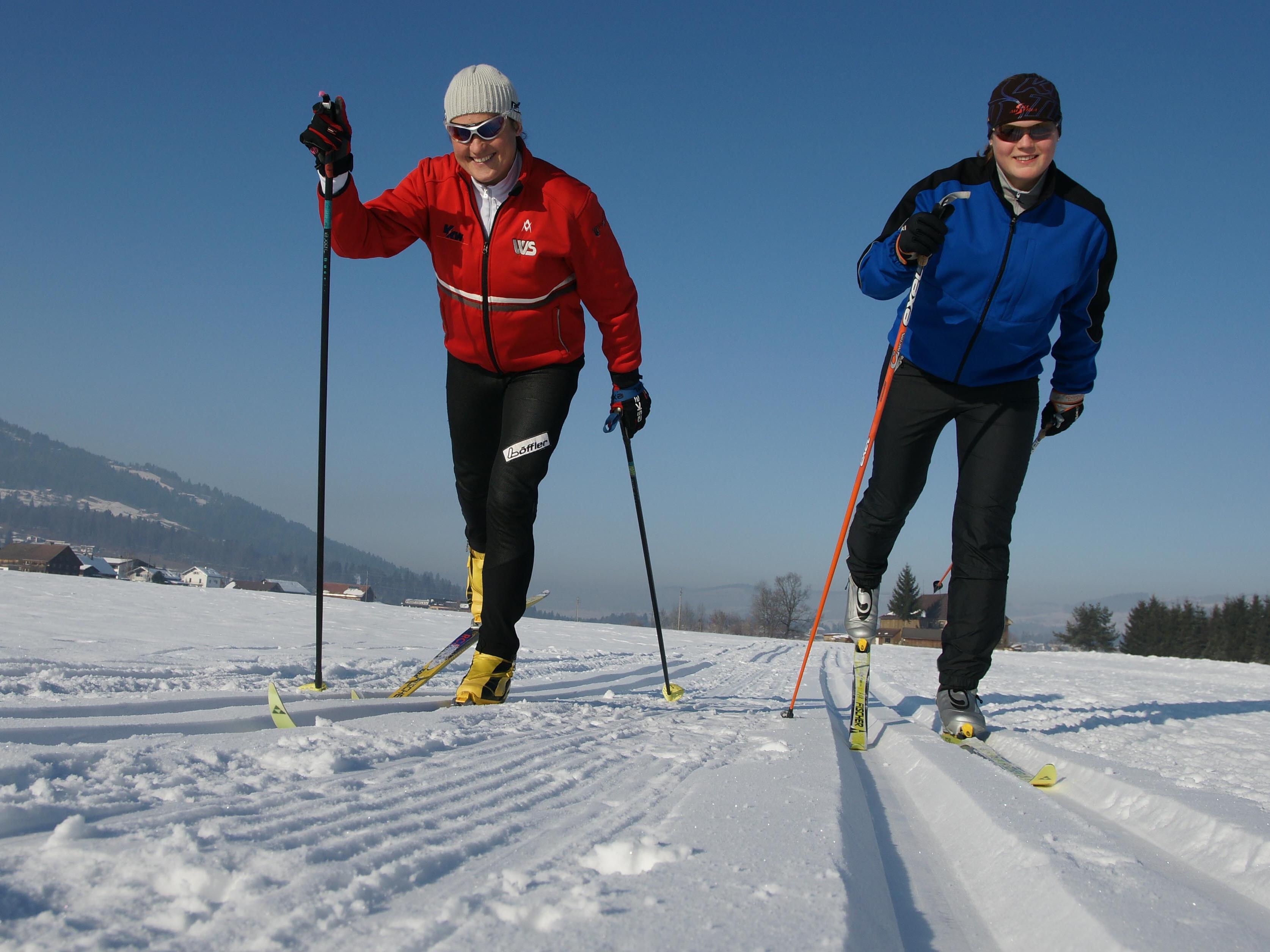Langlauf als Gesundheitssport
