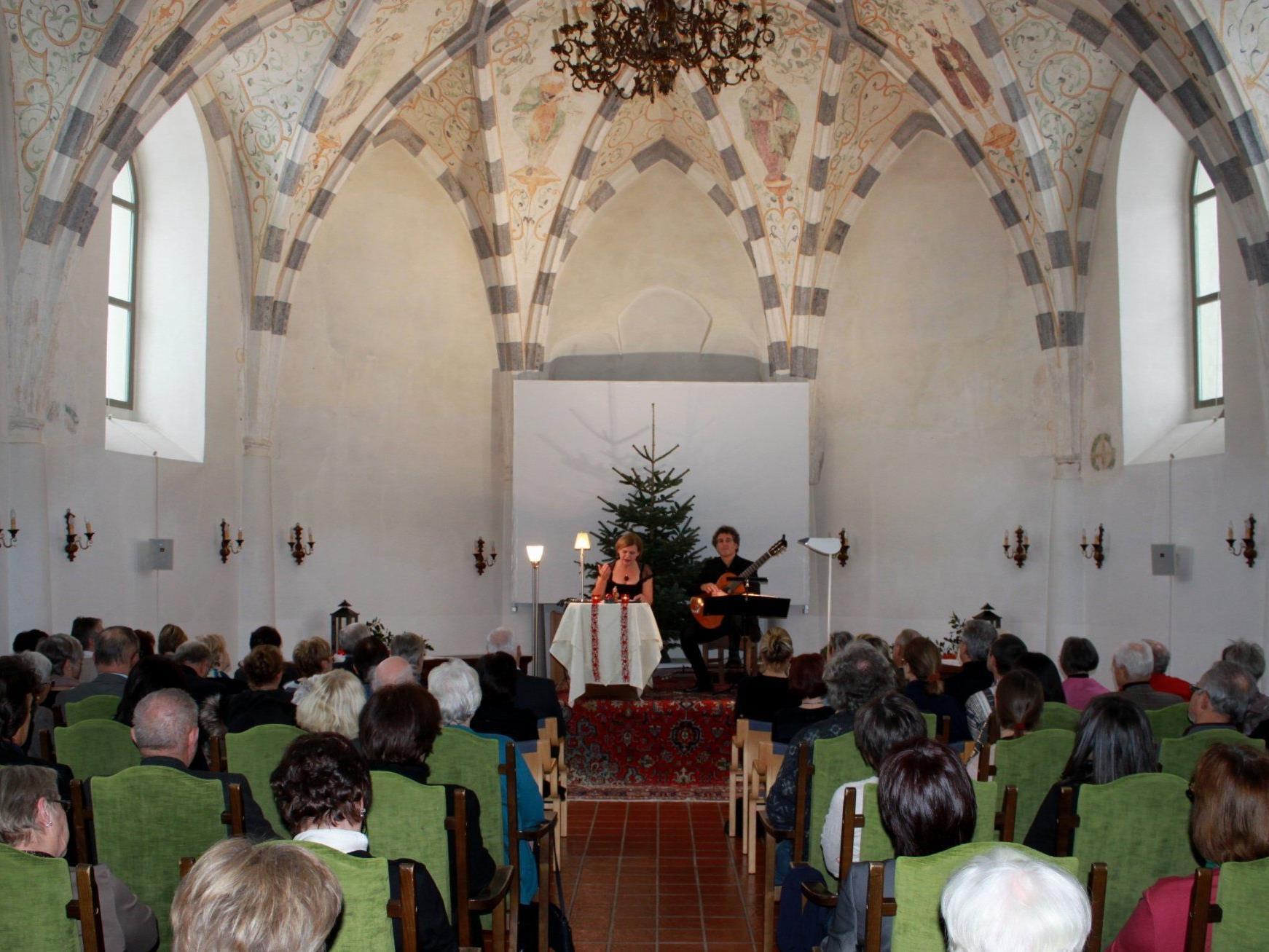 """""""Schloss Hofener Advent"""" begeisterte in stimmungsvollem Ambiente."""