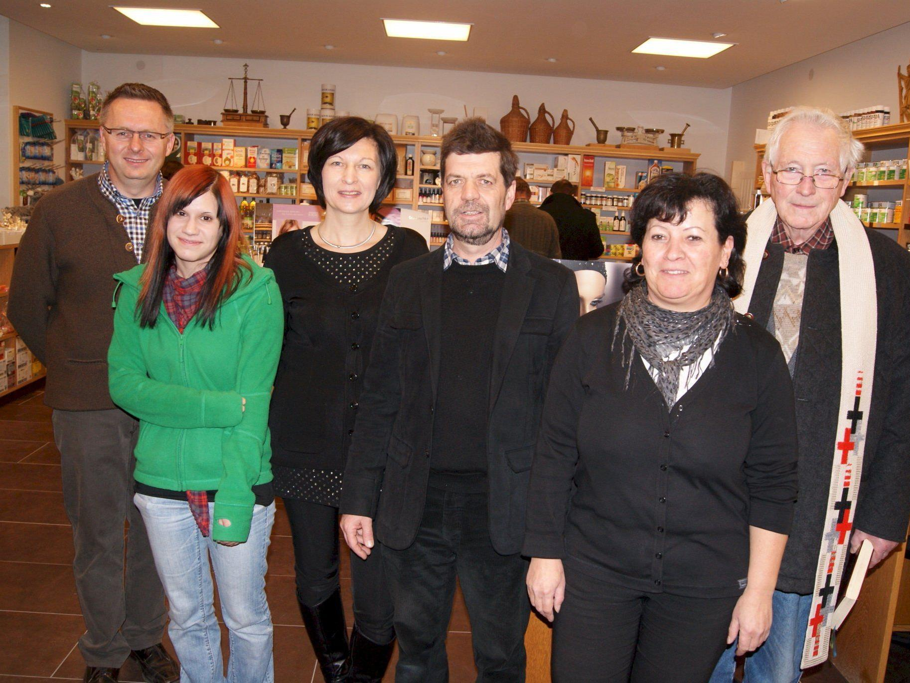 Monika und Dieter Lang freuen sich über die Eröffnung ihres neuen Geschäfts.