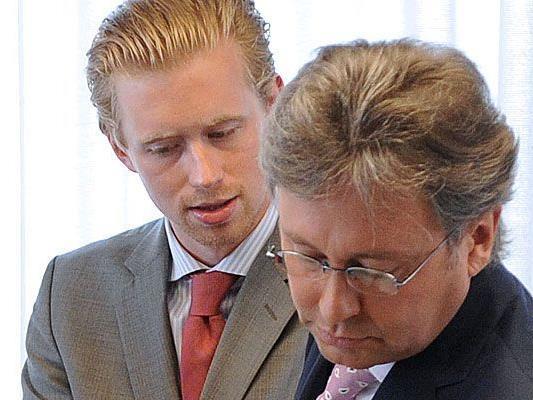 Vor allem die Bestellung von Nikolaus Pelinka (l.) löste den Widerstand des ORf-Redakteursrates aus
