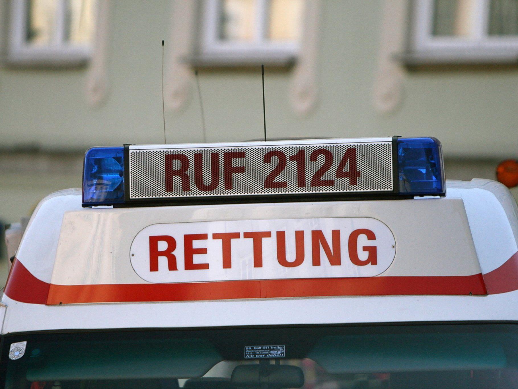 Unbestimmten Grades wurde eine 19-Jährige in Bregenz bei einem Verkehrsunfall verletzt.