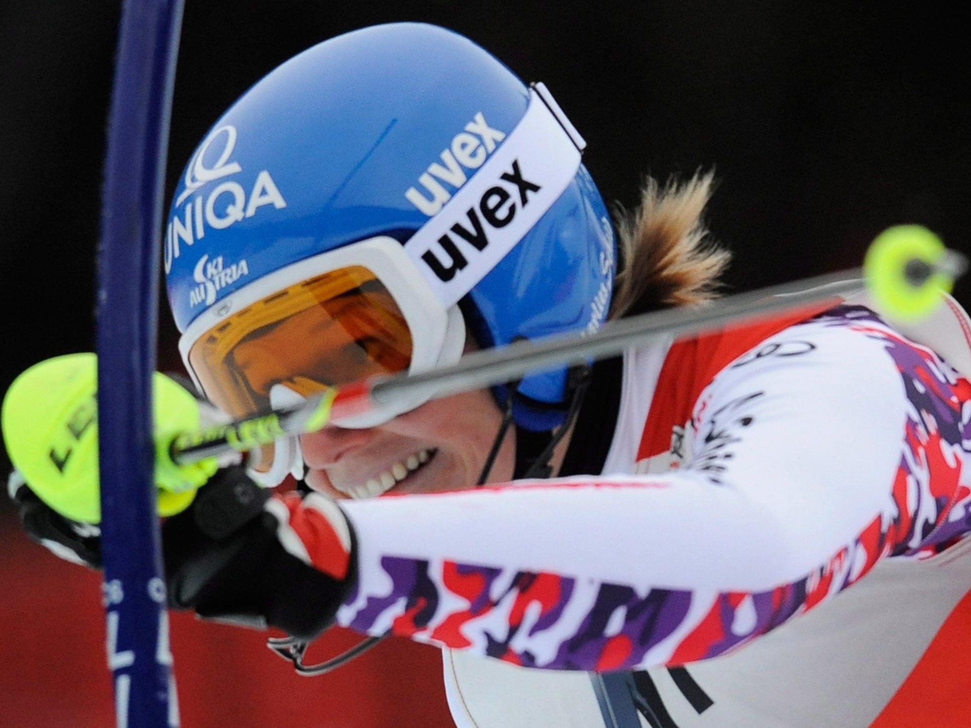 Marlies Schild hat in Lienz ihren 31. Weltcup-Slalom gewonnen.