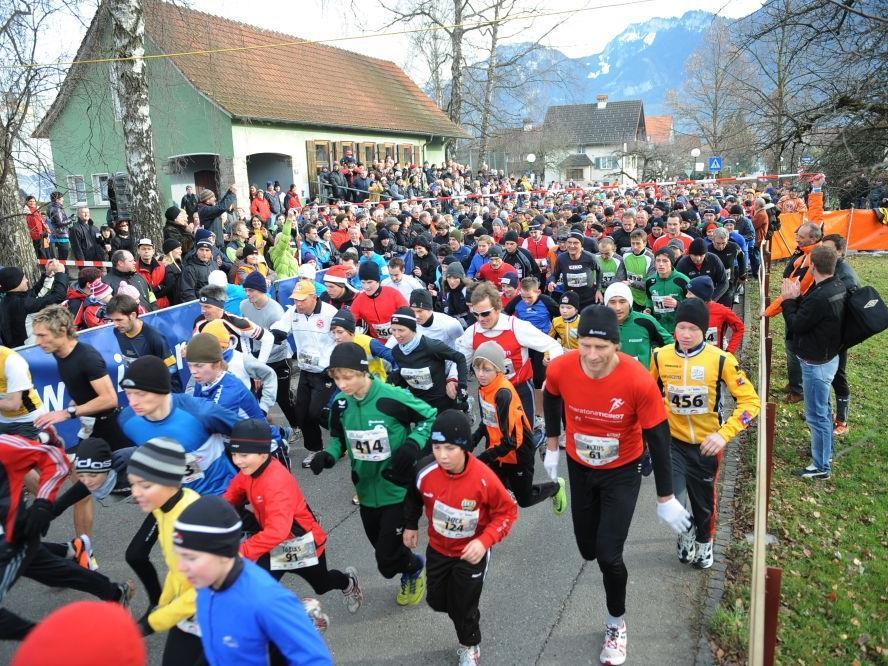 Auch beim 14. Silvesterlauf am 18. Dezember wird mit einem Rekordteilnehmerfeld gerechnet.